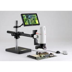 "Leica DMS300 Microscope w/24"" Monitor"