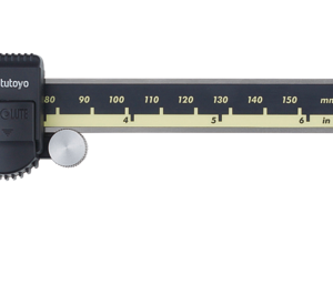 caliper with thumb roller