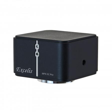 black microscope camera