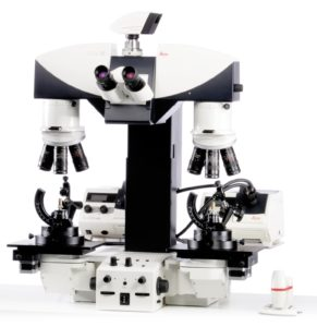 forensic comparison microscope with macro lenses