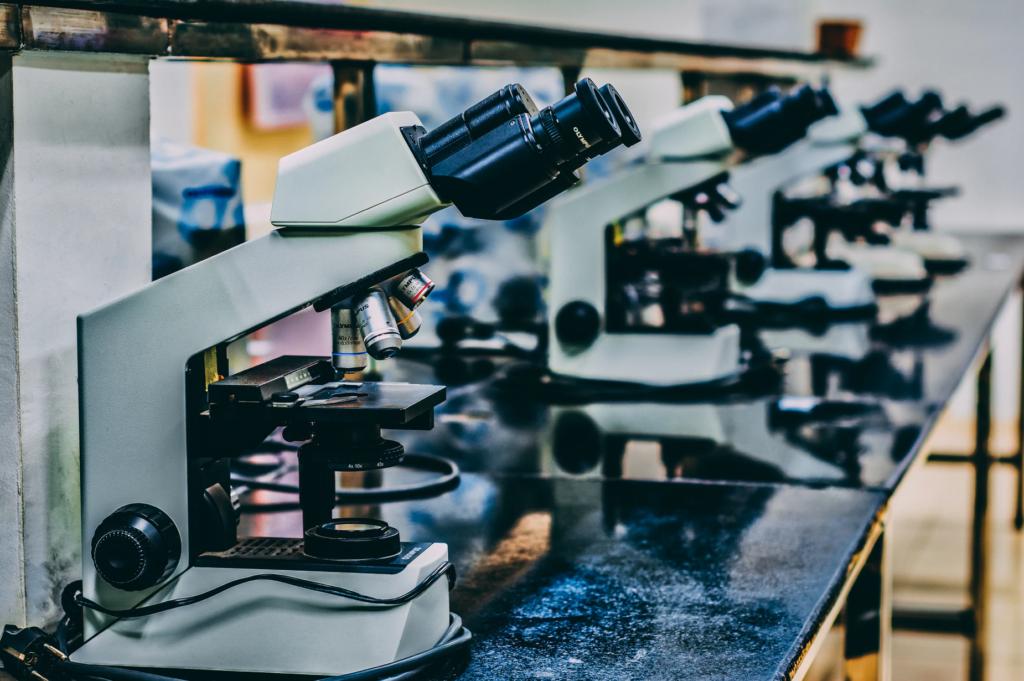 Classroom microscopes